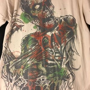 Electric zombie T-shirt